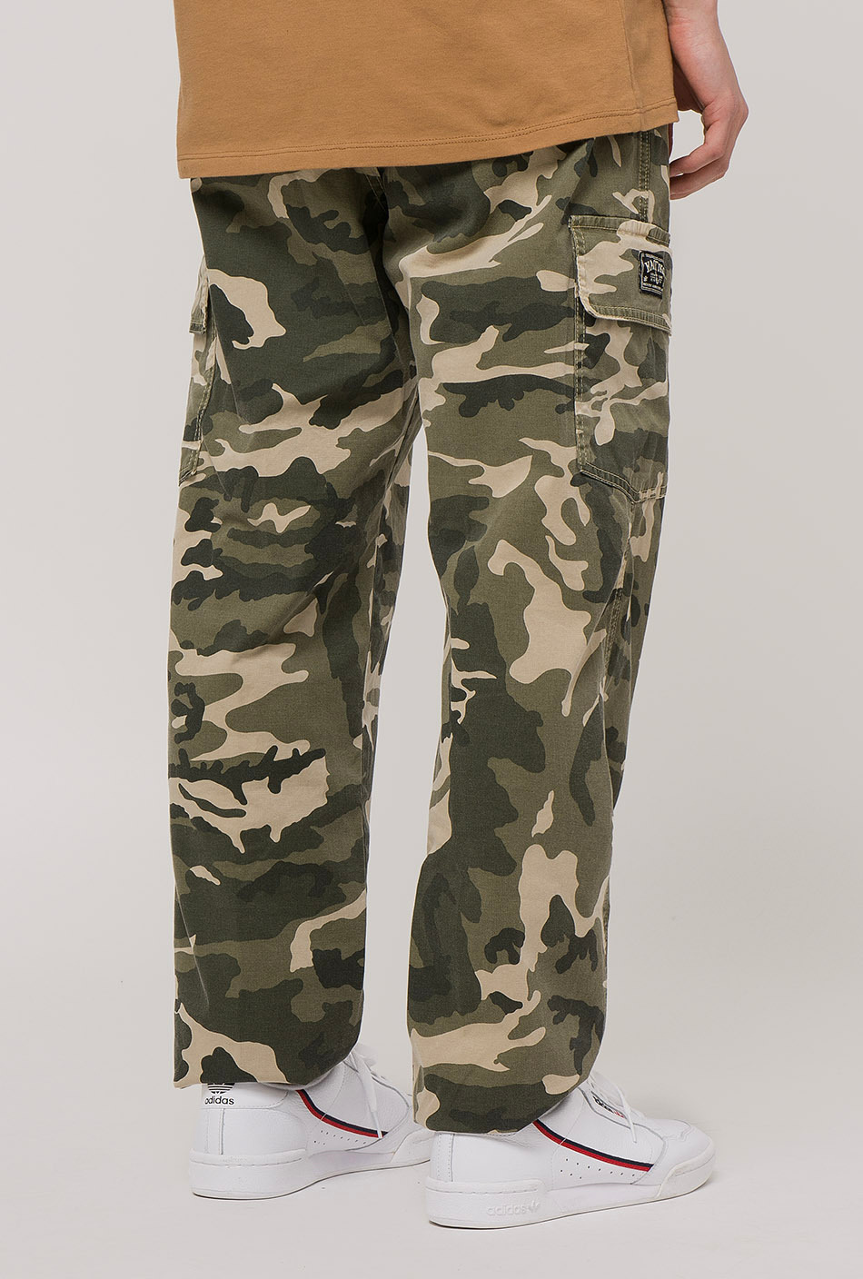 cargo camouflage trousers