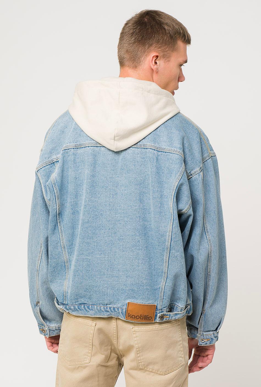 Jacke vintage denim blue