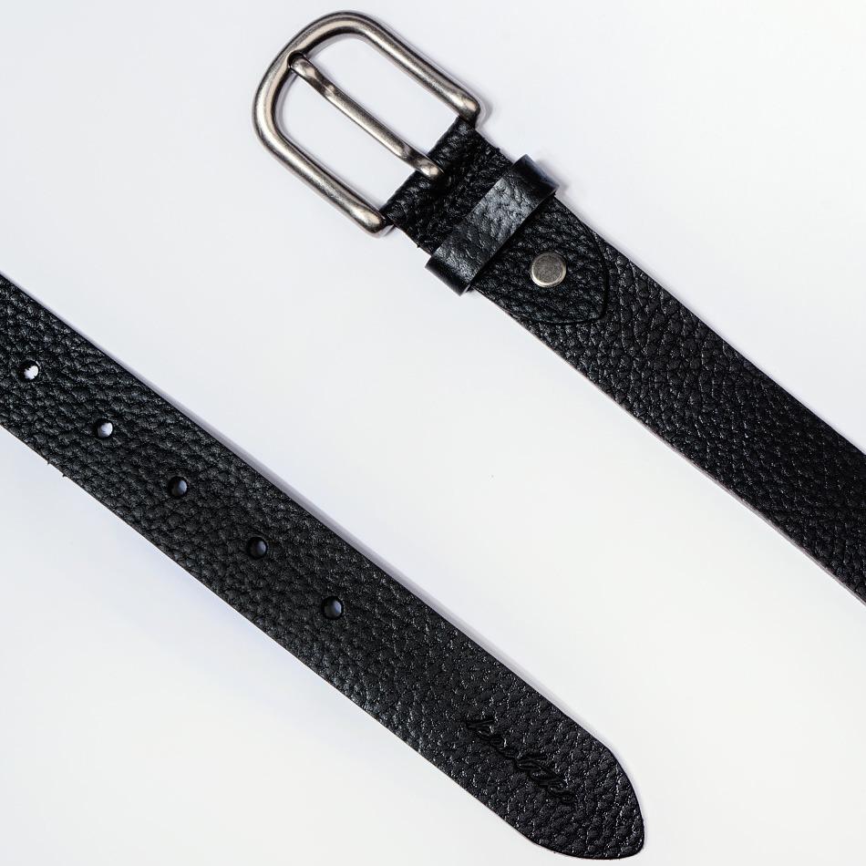 Cinturón Leather Black-100