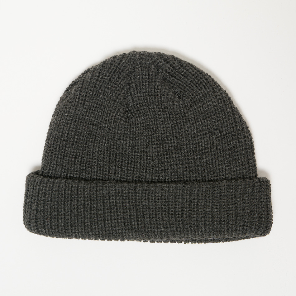 Beanie Fisherman Charcoal