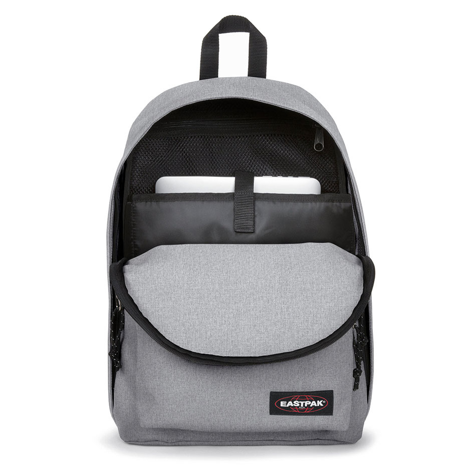 eastpak out of office Sunday Grey bagpack